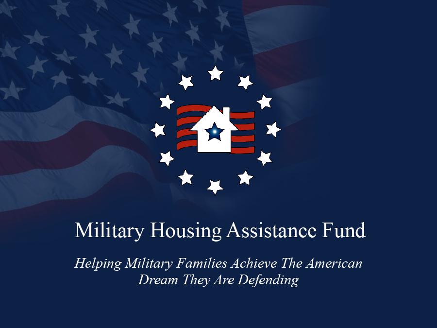 FAQ | Military Housing Assistance Fund (MHAF)