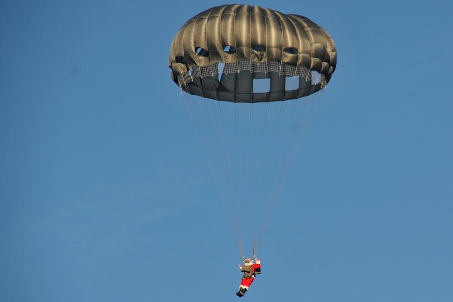 Santa Army Parachute