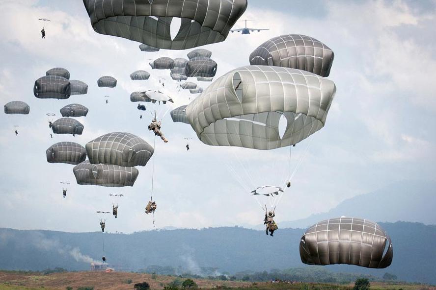 Army Parachute